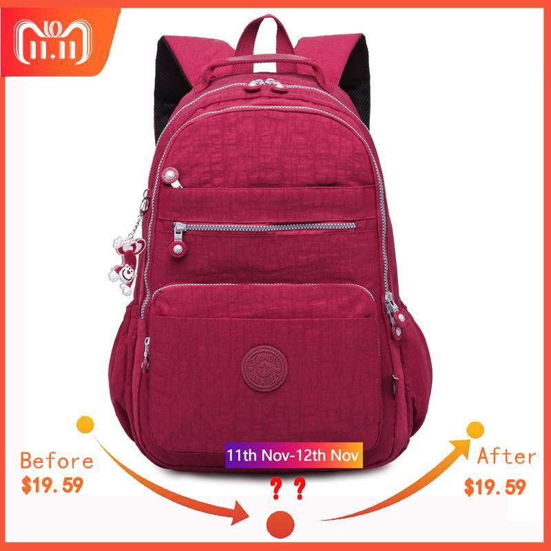 2019 FashionTEGAOTE Mochila Feminina Backpack For Teenage Girls Schoolbag Backpacks  Women Female Nylon Bagpack Travel Preppy Style Sac A Dos Mochilas ... 67e64745ca86e