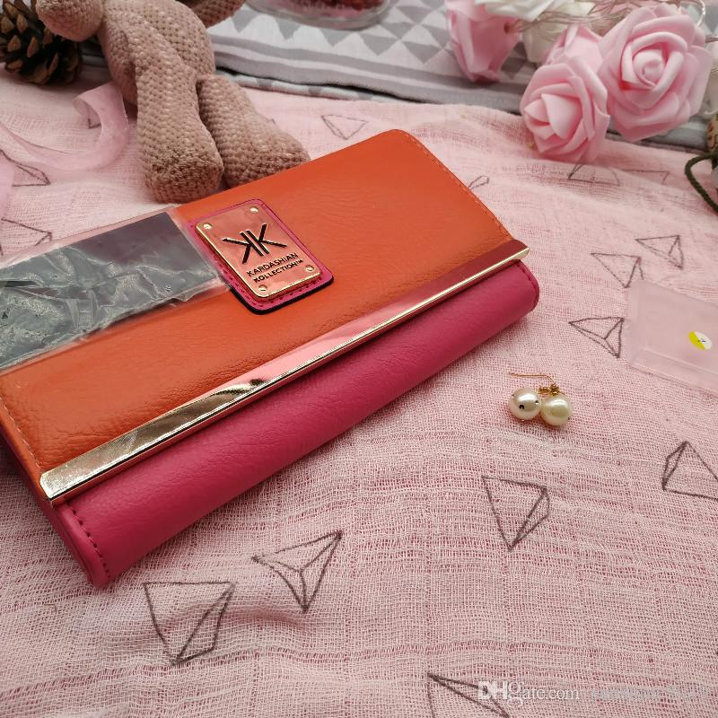 5122e4783e KK 2019 Women Wallets Leather Female Clutch Purse Kapok Flower Ladies Money  Clip Sweet Vintage Style Visconti Wallet Luxury Leather Goods From  Sunshine2019, ...