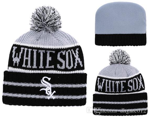 Discount White Sox Beanie Sideline Cold Weather Graphite Official Revers  Sport Knit Hat All Teams Winter Warm Knitted Wool Skull Cap Winter Hat Cool  Hats ... 0d48f008815
