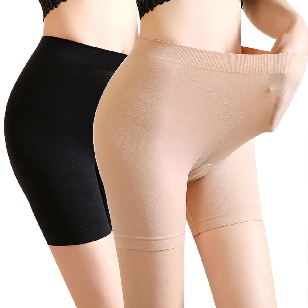 0681e537957b Summe Women Boyshorts Pants Women's 4Way Stretch Seamless Boy Shorts  Mid-Length Safety Boxer Briefs Safety Underwear Boxer Brief