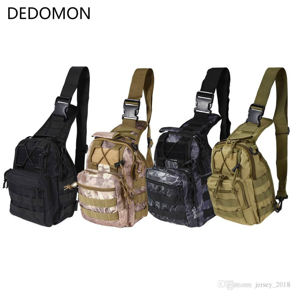 fadf145ff4d 2019 Outdoor Sport Bag Military Tactical Backpack Tactical Messenger  Shoulder Bag Oxford Camping Travel Hiking Trekking Runsacks  159151 From  Jersey 2018, ...