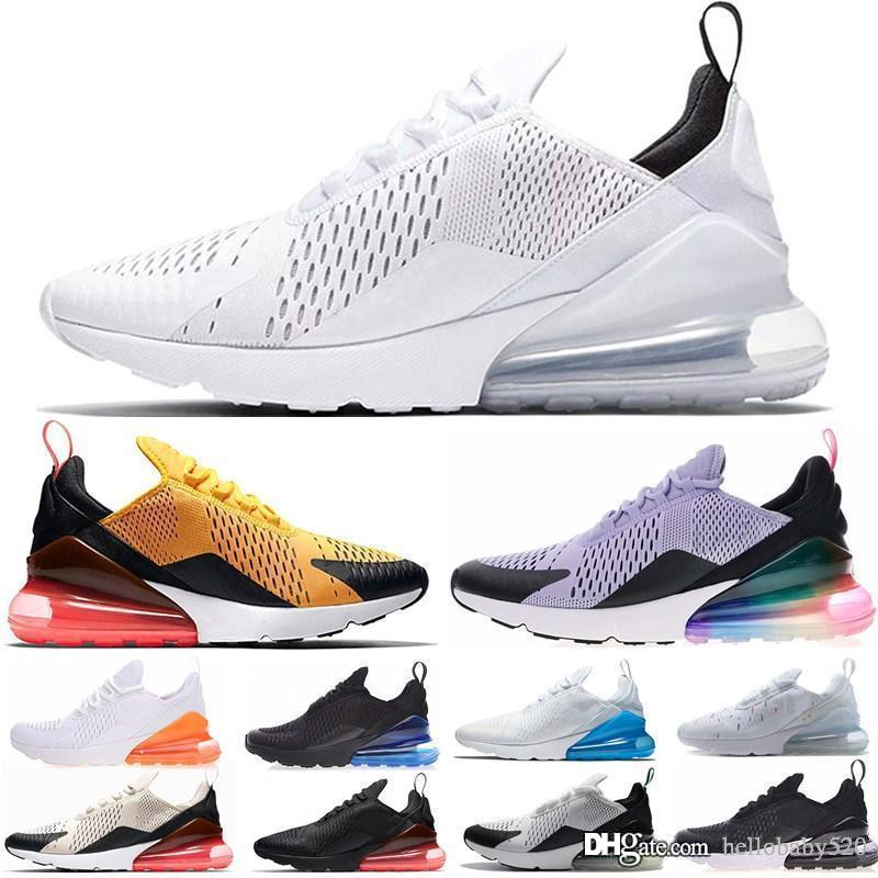 nike air max 270 airmax TN s Rainbow BHM BE TRUE Nuevo Oro Blanco Rojo Rosa Mujeres Hombres Hombres Diseñador casual Zapatos Zapatillas de deporte