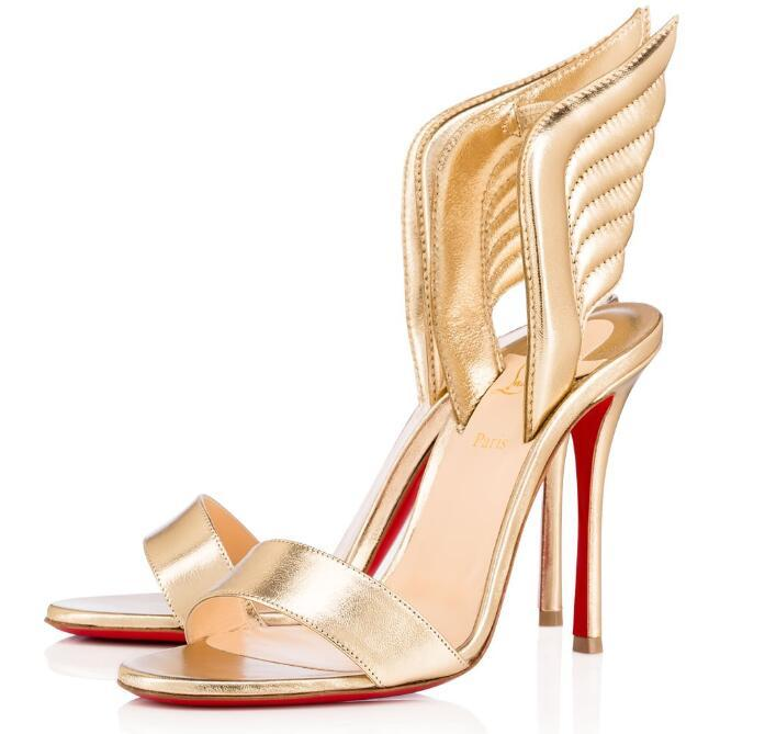 timeless design 9934f 2b993 Christian Louboutin CL Fashion classic high heel women s shoes wedding  shoes bridal shoes sandals c2