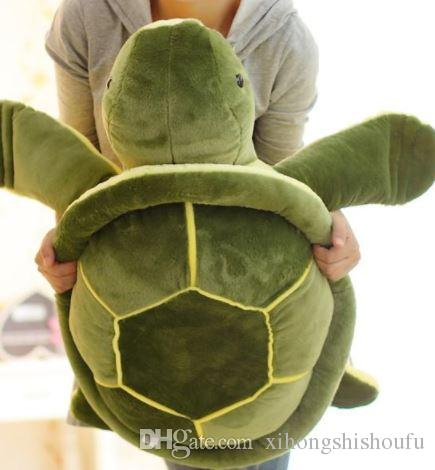 Turtle Plush Toy Big Eyes Turtle Pillow Cushion Stuffed Zebra Toy