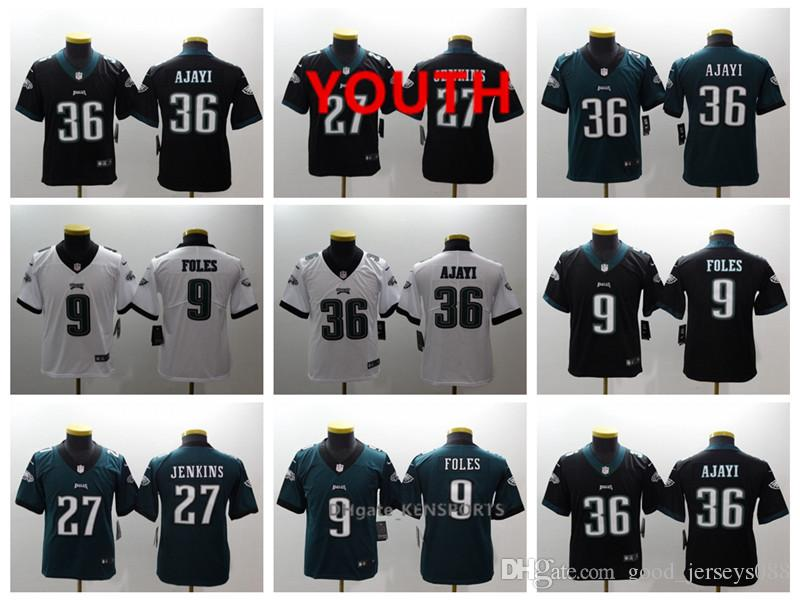 3e2d992b759 ... inexpensive 2019 youth philadelphia football eagles jersey 36 brian  westbrook 27 malcolm jenkins 9 nick foles