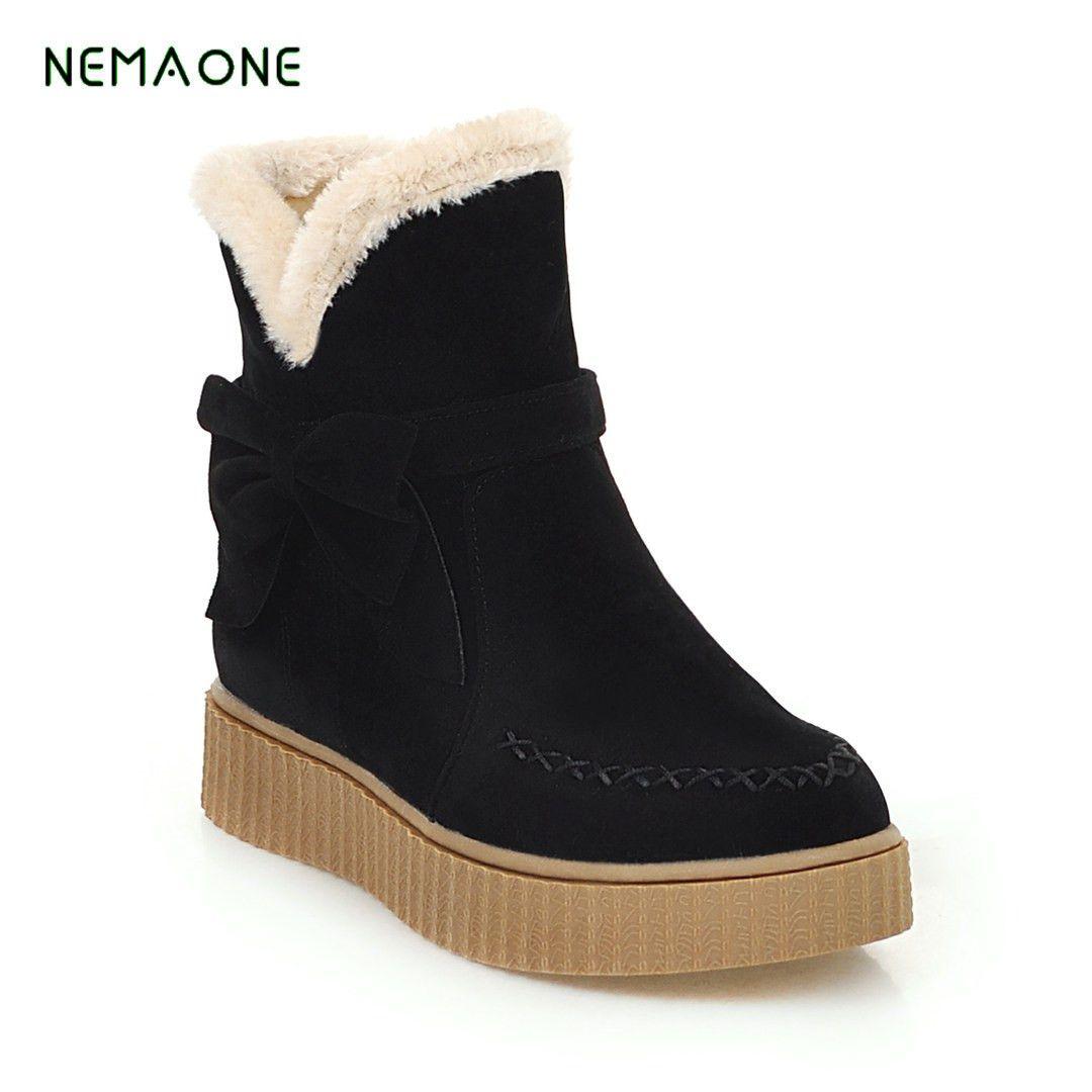 147d0e984906 2019 New Snow Boots Winter Brand Warm Non Slip Women Boots Shoes ...