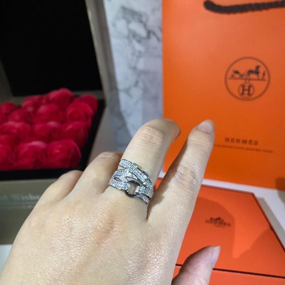 2ded00264 Full Crystal Ring For Women with Zircon Fits Silver Gold Size ...