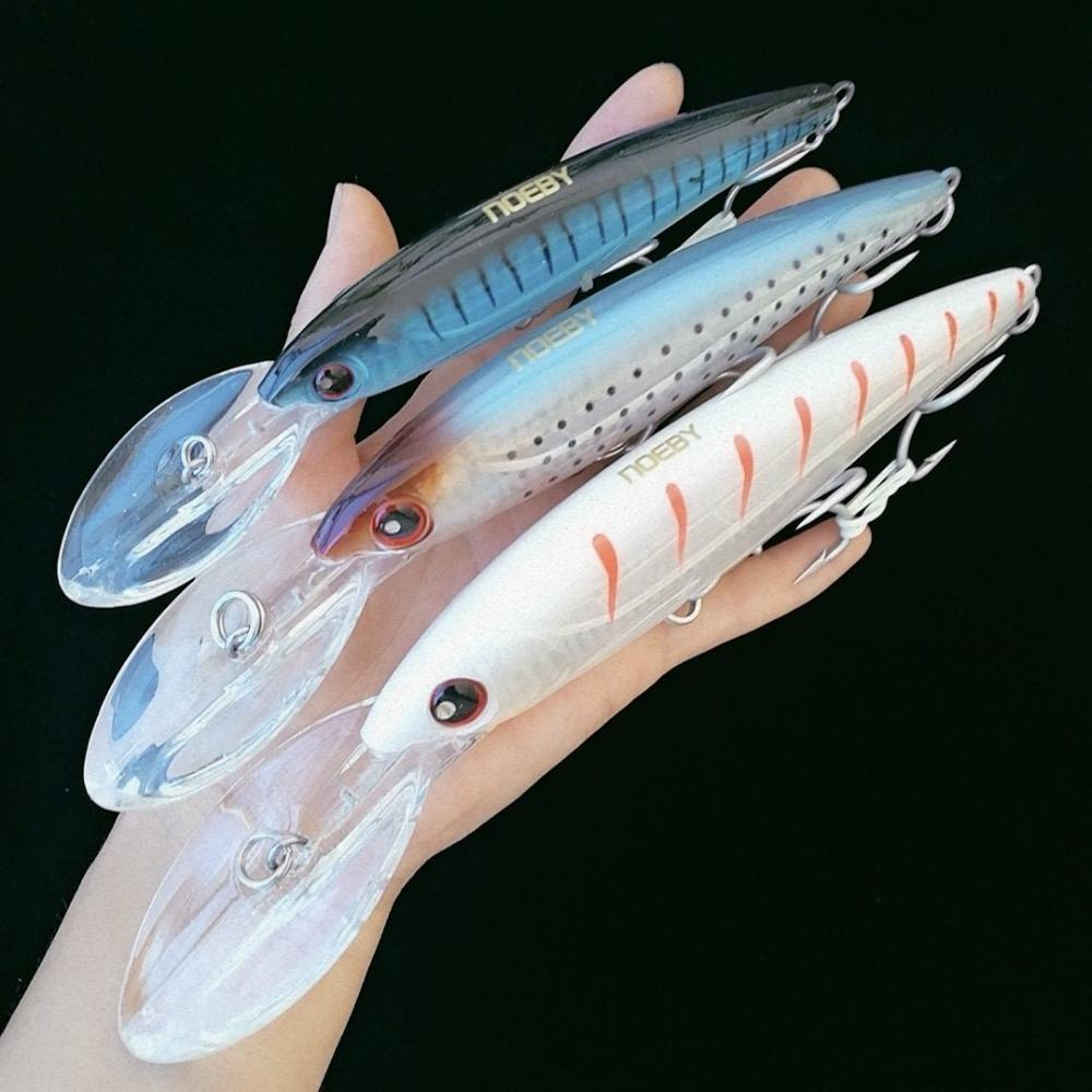 1pc 16cm/60g 14cm/44g 12cm/32g Swimbait Fishing Minnow Lure Hard Artificial Bait Hook Fishing Tackle Minnow Of Wobbler