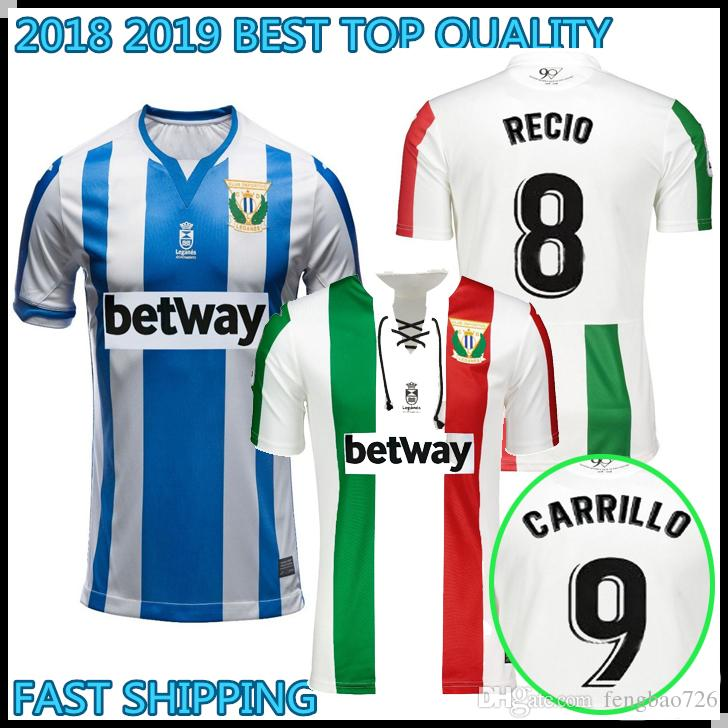 2018 2019 TOP QUALITY Leganes Soccer Jersey 18 19 Home J. SILVA EN ... 033739480