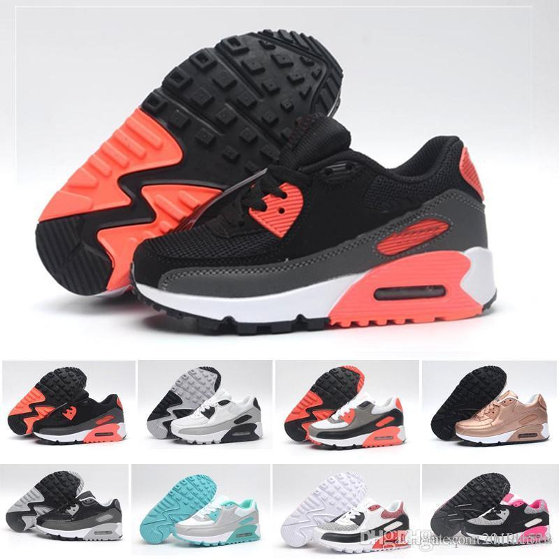 the best attitude 6ea7f de52e Kids Sneakers Presto 90 II shoe Children Sports Orthopedic Youth Kids  trainers Infant Girls Boys running shoes 9 Colors Size 28-35