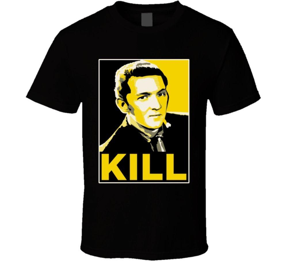 Jerry Lee Lewis Kill Hope Style Rock N Roll Pianista T Shirt