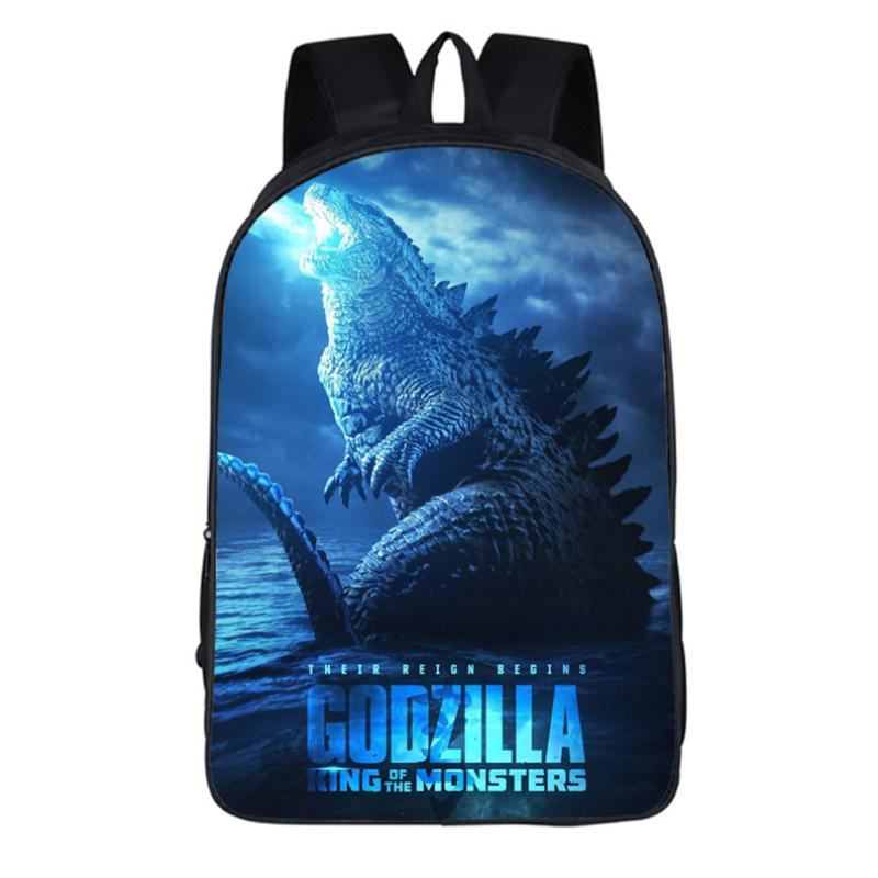 10ebece3c 3D Printing Godzilla backpack for Teenagers Women Men Travel backpack  Children backpacks Bag Daily Backpacks R20