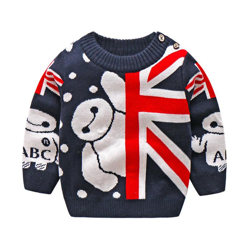 a9dde3023916 Good Quality New Autumn Winter Baby Sweater Cartoon Knitted Sweaters ...