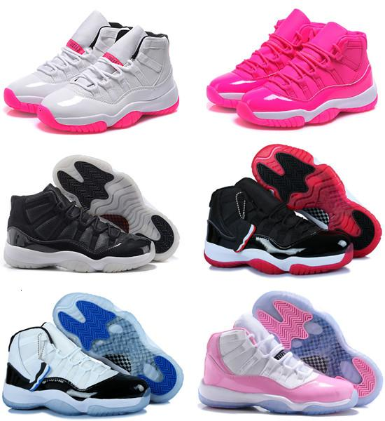Quality Original 11 11s Women Basketball Shoes Online Cheap Sale The Best 72-10 Real Sneakers Us Size 5.5-8.5 Free Shipping With Box