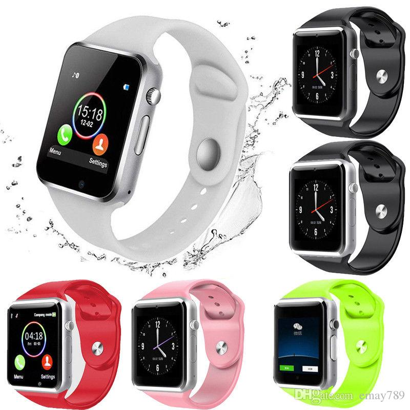 Geebabay A1 smart watch Bluetooth waterproof blood pressure pedometer mobile phone large capacity SIM card Android Android Samsung
