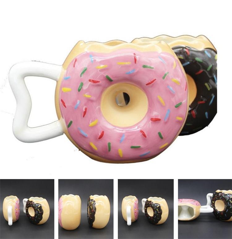 64a7572175e New Style Fashion Cup Round Cup Creative Cups Coffee Cups Mug Doughnut  Shape Tumblerful Ceramic Tumblerful T6I6029 Oversized Coffee Mugs For Sale  Patterned ...