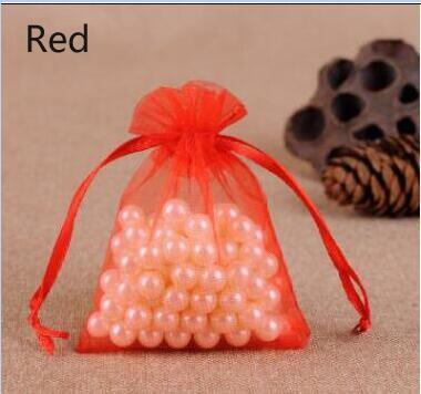 Small & Large Organza Bag Wedding Pouches Jewelry Packaging Bags Birthday Party Christmas Gift Bags 11 Sizes
