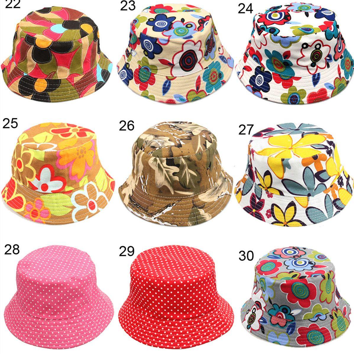 ce5db370cf6 Kids Hats Children Honey Flower Bucket For Baby Packable Foldable Fishing  Cap Summer Wide Brimmed Beach Sun Visor Accessories Children Bucket Hat  Kids Hats ...
