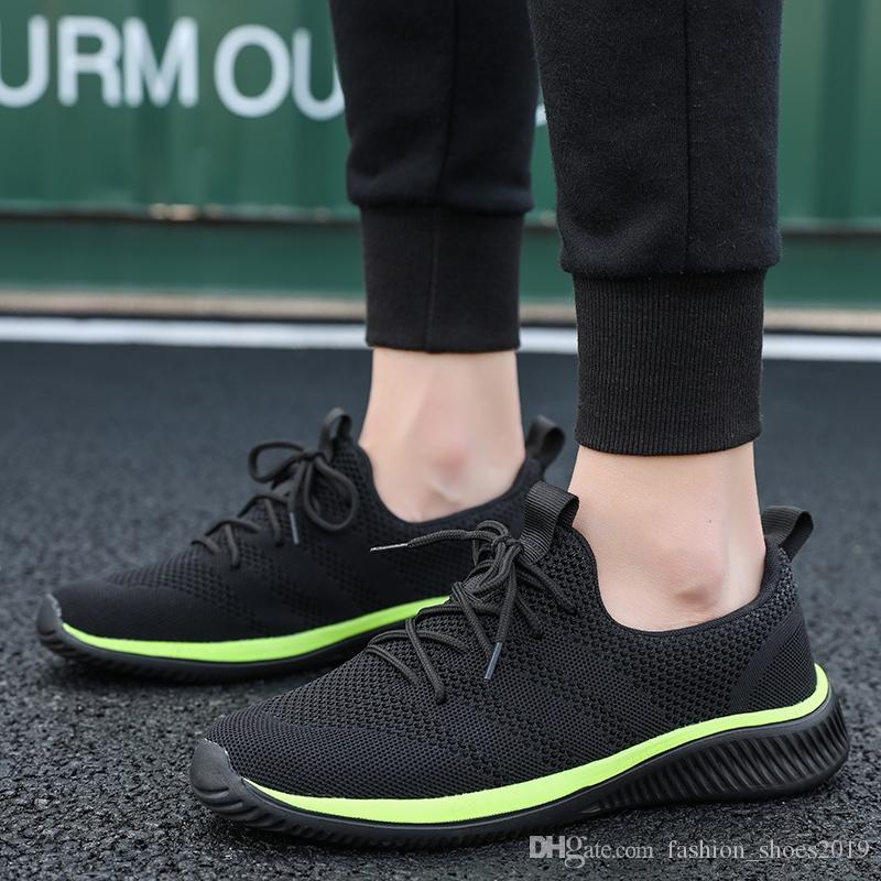 100a90866 Men Casual Shoes Brand Shoes Men Spring Sneakers Flats Mesh Slip On Breathable  Light Mens Shoe Male Trainers 2019 Hot Sale  346846 Wedges Shoes Black Shoes  ...