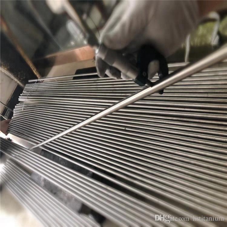 Ti Shape memory alloy nitinol titanium alloy Bars/Rods industrial niti bar  price astm b348 dia20*L300mm gr5 titanium connecting rod