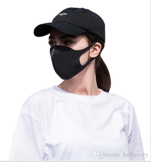 2020 Black Mask Protect Face Mask Ffp2 Mascherine ...