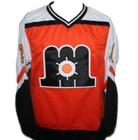 best website 4d159 06080 Customize Vintage Maine Mariners Hockey Jersey Embroidery Stitched or  custom any name or number retro Jersey