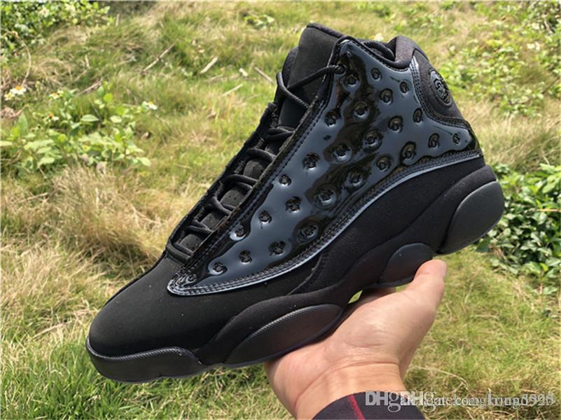 72bb6ffdb36 Newest 13 Cap And Gown Men Basketball Shoes 13S Authentic Real Carbon Fiber  Sports Sneakers With Box 414571 012 Shoes Men Basketball Games From  Friend520