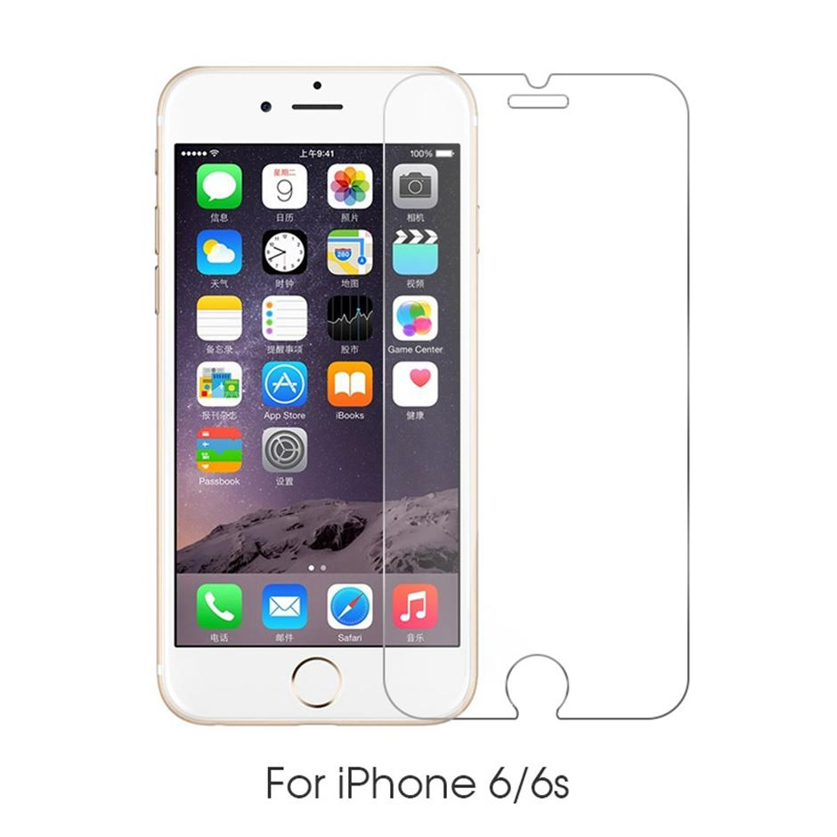 2.5d الزجاج المقسى شاشة الهاتف حامي شاشة ايفون 12 11 برو ماكس XS X XR 7 8 زائد سامسونج A01 كور A11 A21 A21 A31 A41 A51 A71 A81 A91