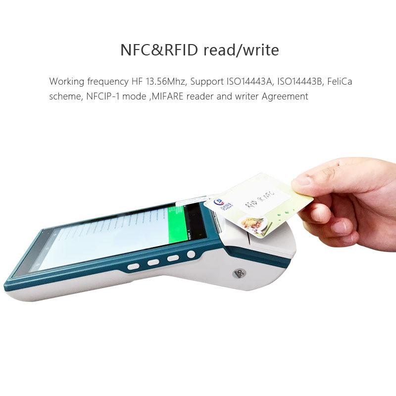 Android based Touch Point of Sale System with printer barcode scanner and  Mifare card reader , Provide SDK