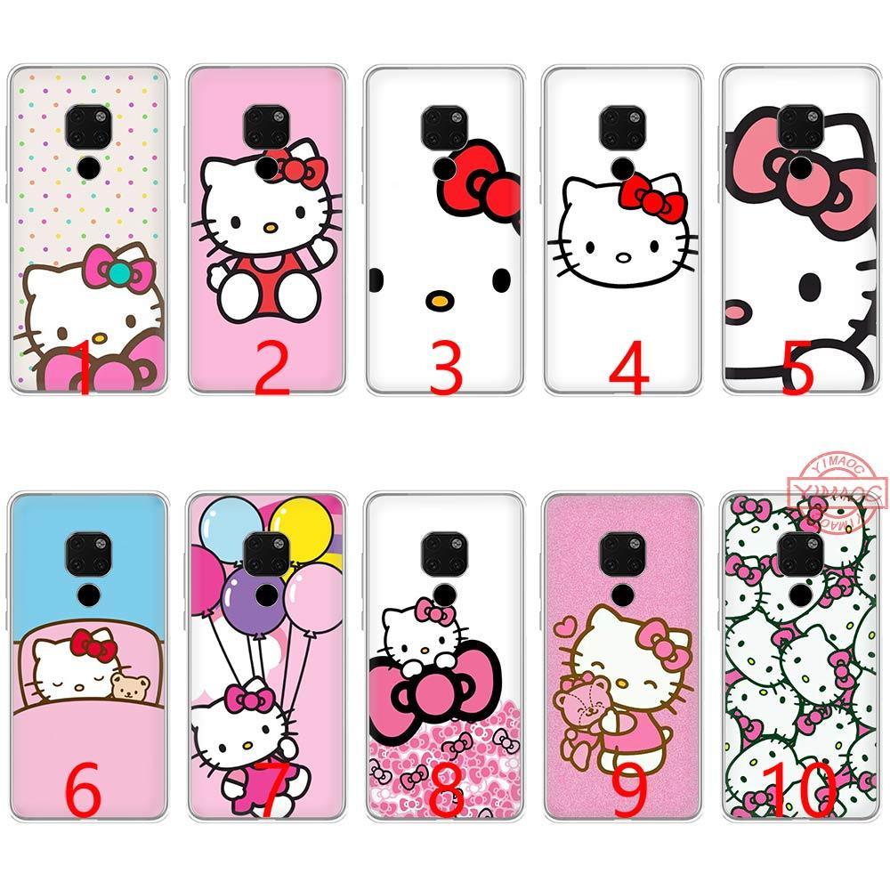 137f64f5d94 Carcasas Para Celulares Hello Kitty Funda De Teléfono De Silicona Suave TPU  Para Huawei Mate 20 10 Pro Nova 2i 3 3i 4 Lite Fundas Para Movil Por  Liangdeyou8 ...