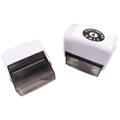 Childrens Stamp Toy Adult Cool Gift Dont Ask For 4 White Birthday Present Bilge Brand New Seal High Quality