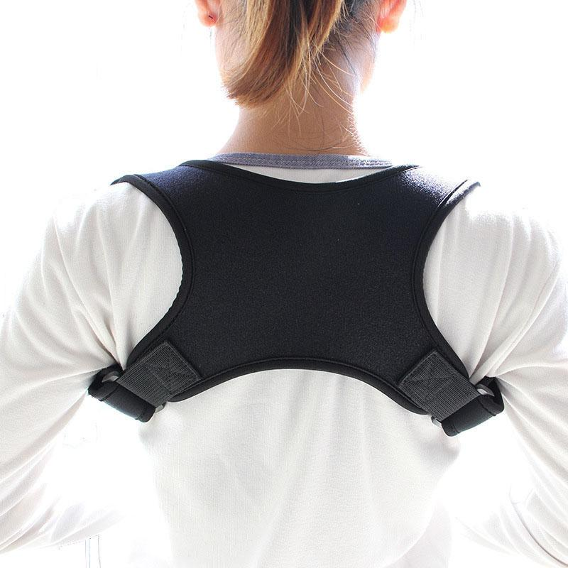 0b6991aa48a0c 2019 New Upper Back Posture Corrector Clavicle Support Corrector Back  Straight Shoulders Brace Strap From Mtaiyang