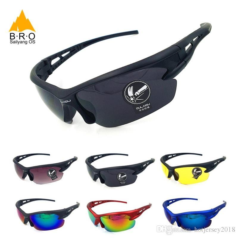 25cfd23a756e8 Compre UV400 Ciclismo Eyewear À Prova De Explosão Dos Homens Esporte Óculos  De Sol Das Mulheres De Ciclismo Óculos De Sol MTB Óculos De Bicicleta Óculos  De ...