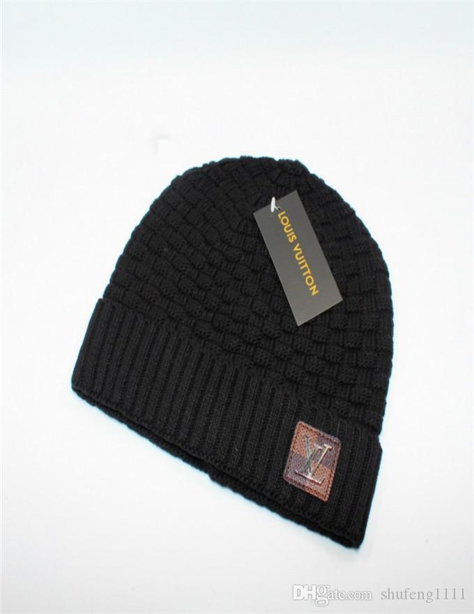b25fd8a5e74 New Autumn Winter Knitted Hats For Women Men Brand Designer Fashion Beanies  Skullies Chapeu Caps Cotton Gorros Toucas De Inverno Macka MO-10 Brand  Beanie ...
