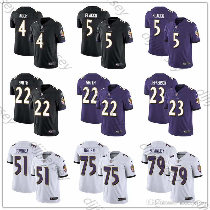 separation shoes db0de cd2d9 Custom Baltimore Men s RavensLamar Jackson Terrell Suggs Ray Lewis Justin  Tucker Women Youth Vapor Untouchable Limited Football Jersey