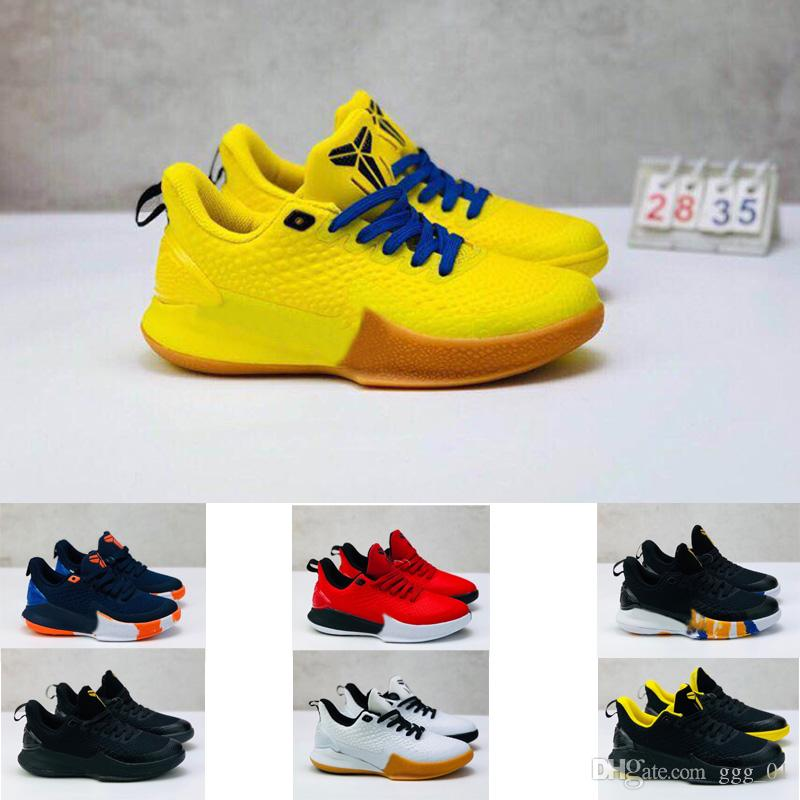 2019 new KOBE Mamba air outdoor Children basketball shoes boy girl youth kid sport Running basketball boots Sneaker