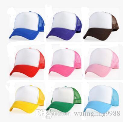00e66e176ff2 Precio de fábrica para niños Gorras de camionero Verano para niños  Sombreros para el sol Sombrero de béisbol Chicos Gorra Chica Sombrero de  malla Logo ...