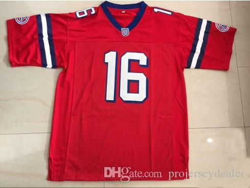 852bc861f37 2019 Mens The Replacements #16 Shane Falco Keanu Reeves Stitched The Film  Washington Sentinels Football Jerseys Double Stitched Name & Number From ...
