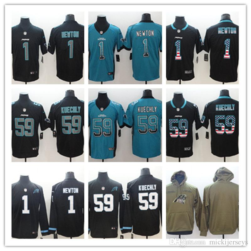 ... australia mens carolina panthers 1 cam newton 59 luke kuechly long  sleeve jersey black carolina panthers 9cdb21840