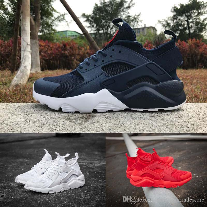 Air Huarache Running Shoes Men Women Triple White Black Red Grey Mens Womens Huaraches Trainers Sports Shoe Sneakers