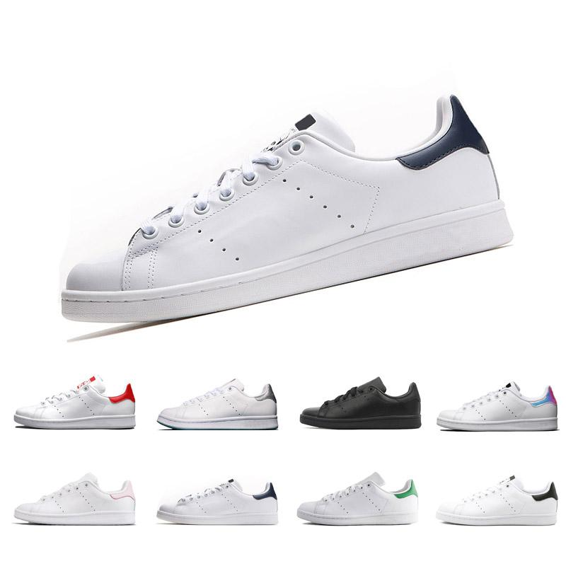 buy popular 100f9 c86a1 2018 New Raf Simons Stan Smith Spring Copper White Pink Black Fashion Shoe  Man Casual Leather Brand Woman Man Shoes Flats Sneakers 36 44 Gold Shoes  Mens ...