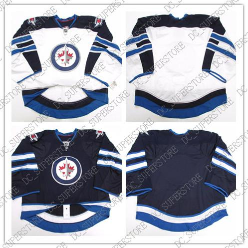 99e59f827c2 2019 Cheap Wholesale WINNIPEG JETS GOALIE CUT ISSUED JERSEY Mens Stitched  Personalized Hockey Jerseys From Dc superstore