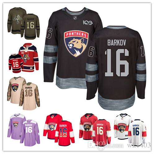 best loved b9622 8e724 Florida Panthers jerseys #16 Aleksander Barkov Jersey hockey men women  youth red white black green home Breakaway Stiched authentic Jerseys