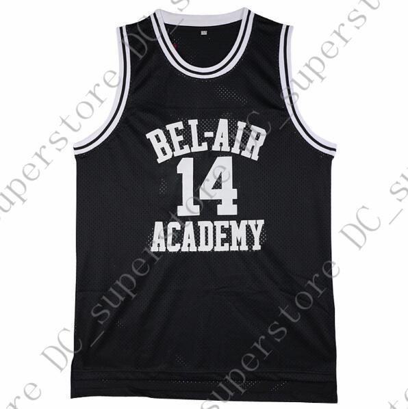 Cheap Custom Fresh Prince Bel Air Academy Will Smith  14 Black Basketball  Jersey Stitched Customize Any Name Number MEN WOMEN YOUTH JERSEY UK 2019  From ... e5cdf949e4