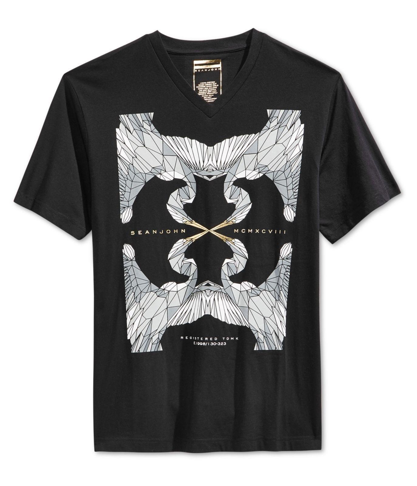 da4b8943c56 Sean John Mens MCMXCVIII Graphic T Shirt Awesome Shirts Cool T Shirts For  Men From Jie40