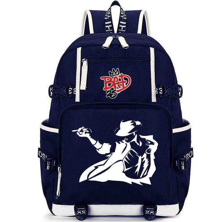 7a65e89da2c2 Michael Jackson Backpack Super MJ Day Pack Classic Singer School Bag Fans  Packsack Laptop Rucksack Sport Schoolbag Outdoor Daypack Osprey Backpack  Tool ...