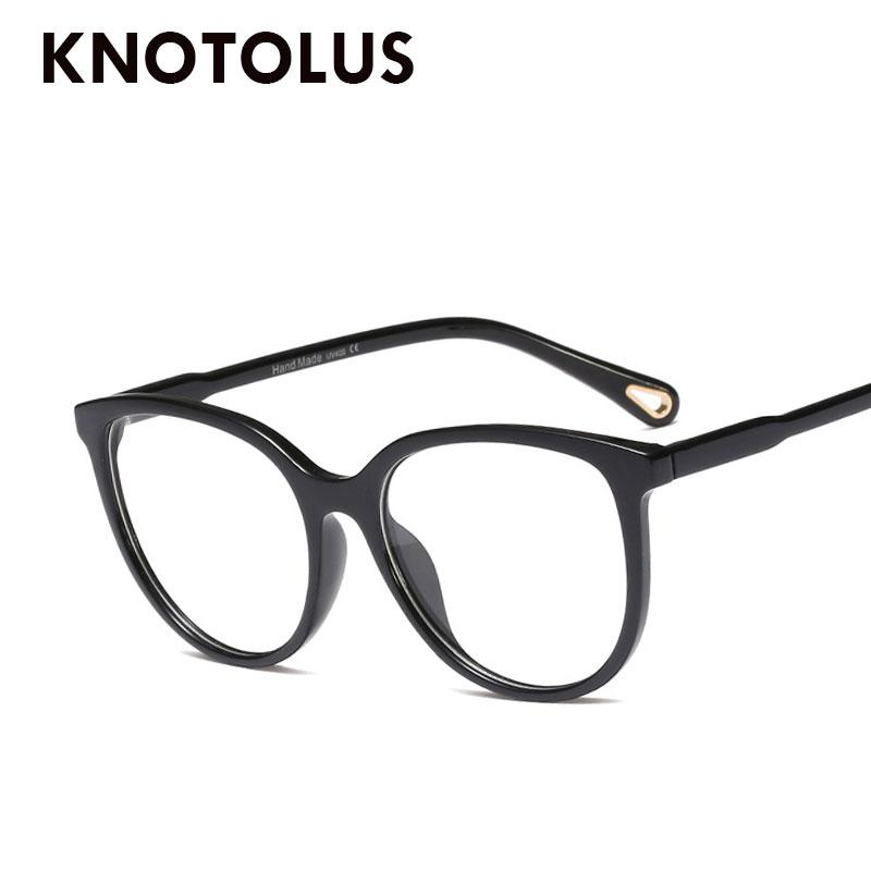 b0f3a9135c7 Knotolus Cateye of Square Sunglasses Women Men Optical Computer Glasses  Oculos De Grau Feminino Eyewear Frames Cheap Eyewear Frames Knotolus Cateye  of ...