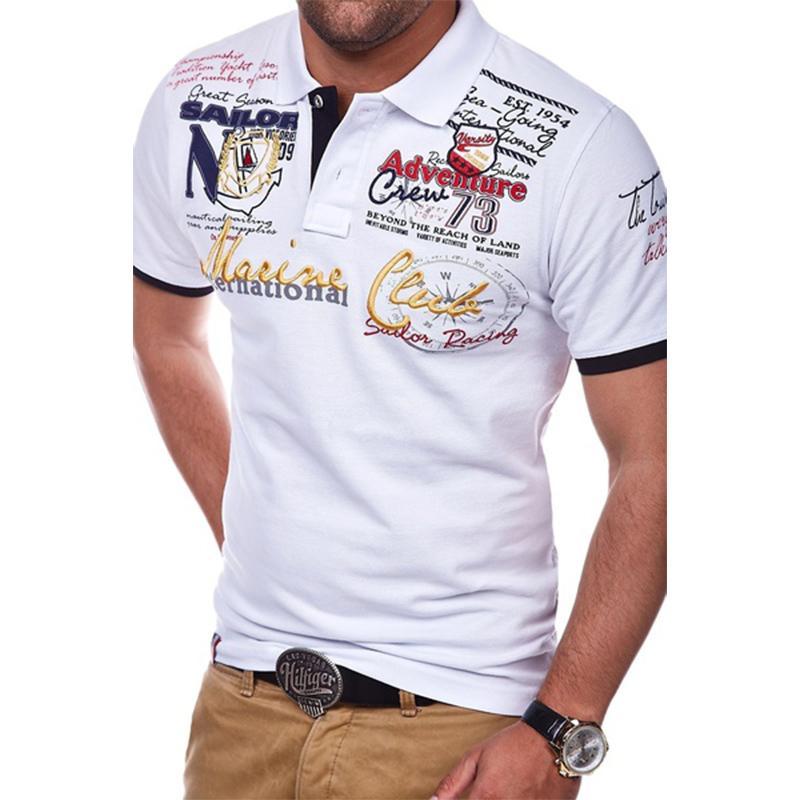 2bd823ab33da1 Zogaa Summer Hot Polo Shirt Men Short Sleeve Polo Shirt Casual Shirts Slim  Fit Cotton Men's Polo Shirt Hot Sale Xs- 4xl Q190426