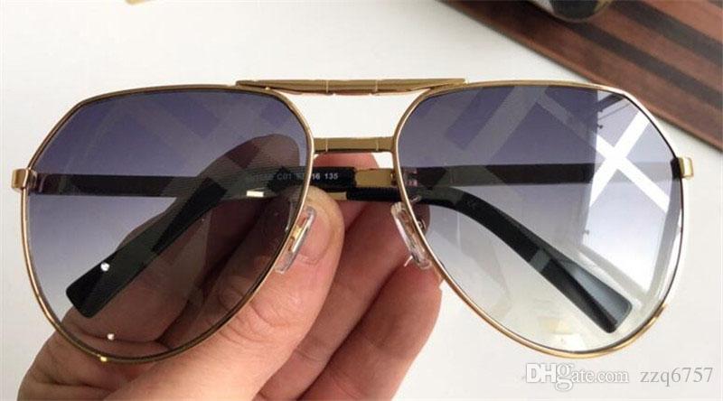 6fb7396b3f New Fashion Designer Sunglasses 3088 Metal Pilots Frame Fold with ...