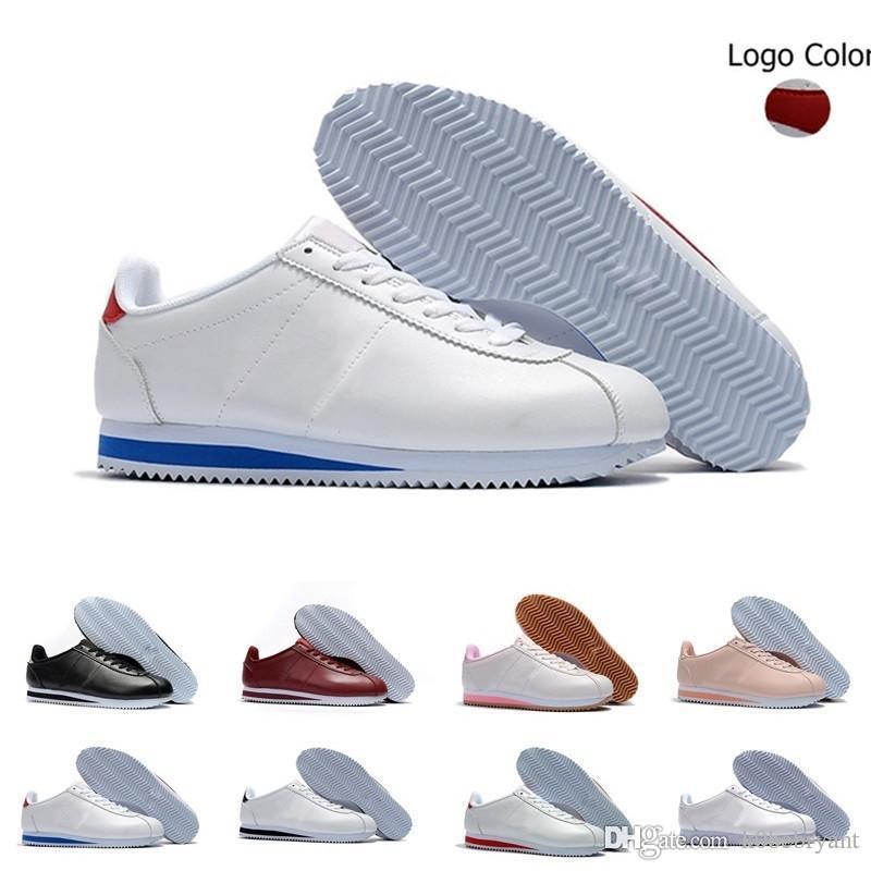 new style fe9a5 ac614 Acquista 2019 Saldi Uomo Donna Atletica Classic Nike Cortez Nylon PRM  Running Sneaker Adlut Rosa Nero Rosso Bianco Blu Leggero Sport Run Scarpe  36 44 A ...